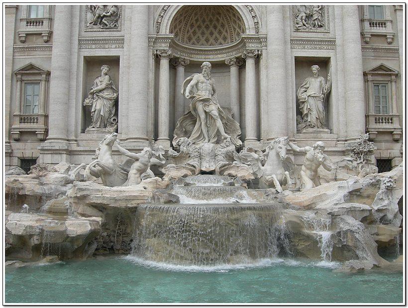 [트레비분수] 로마시대에 어찌 저런 아름다운 분수를 만들었나 싶다.