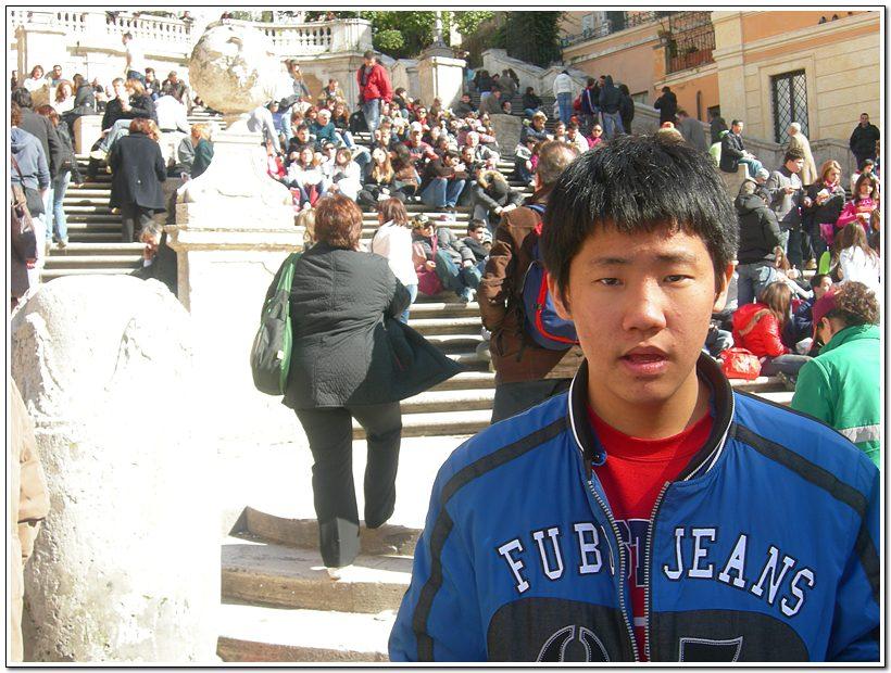 [스페인광장] 로마의 휴일에 나왔던 장소이다. 오드리헵번과 그레고리펙 주연의  ...